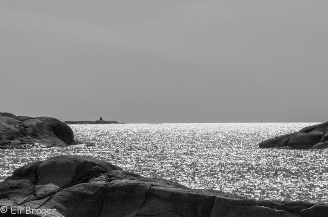Glitrende hav