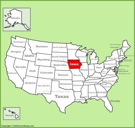iowa-location-on-the-us-map